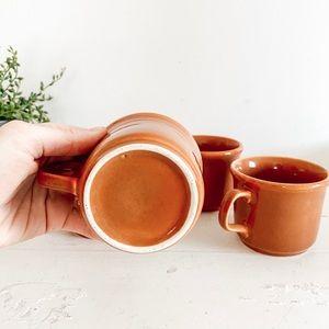 Dining - Set of 4 retro coffee mugs
